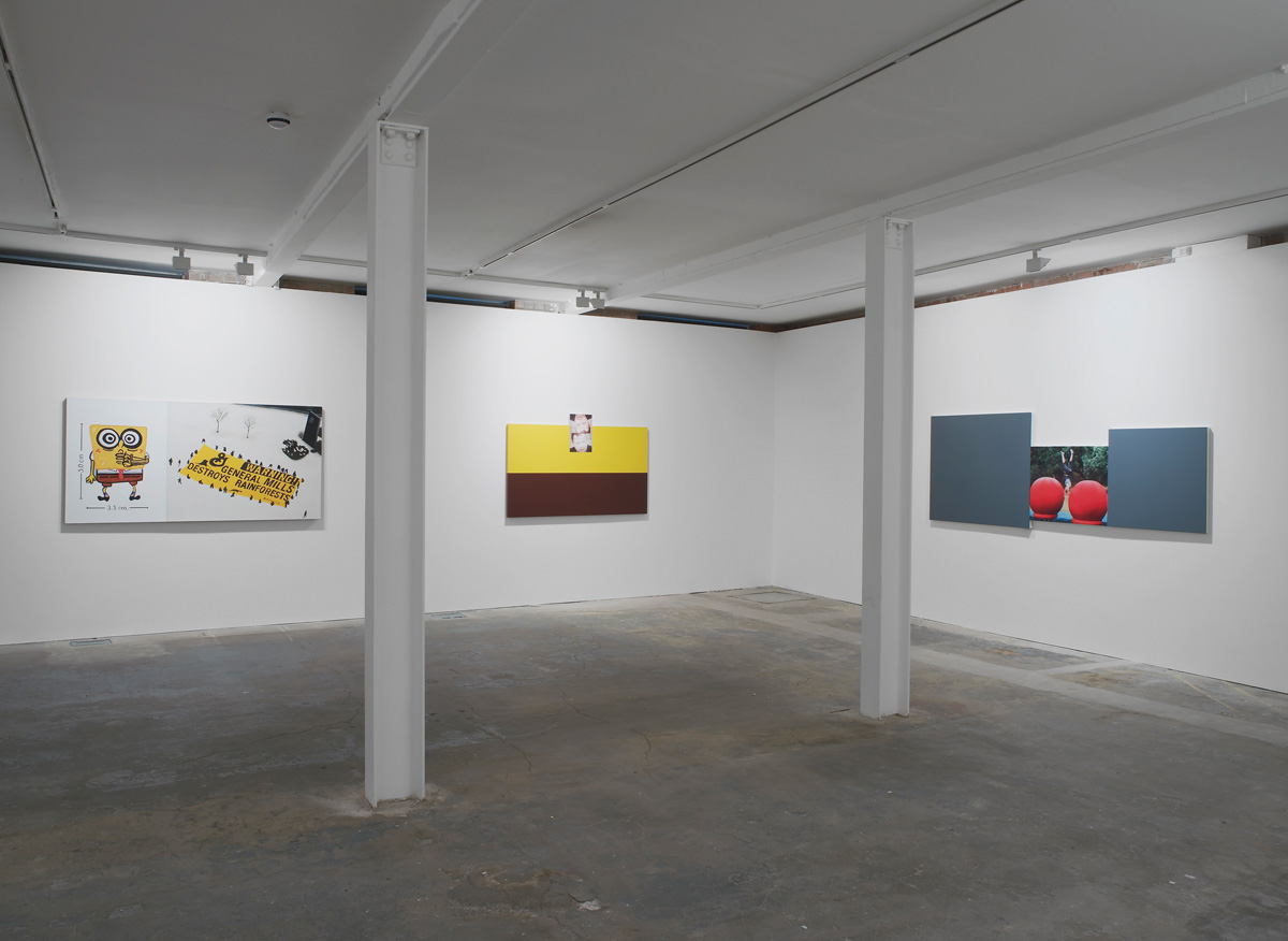 Installation view. Post Culture , Julia Wachtel