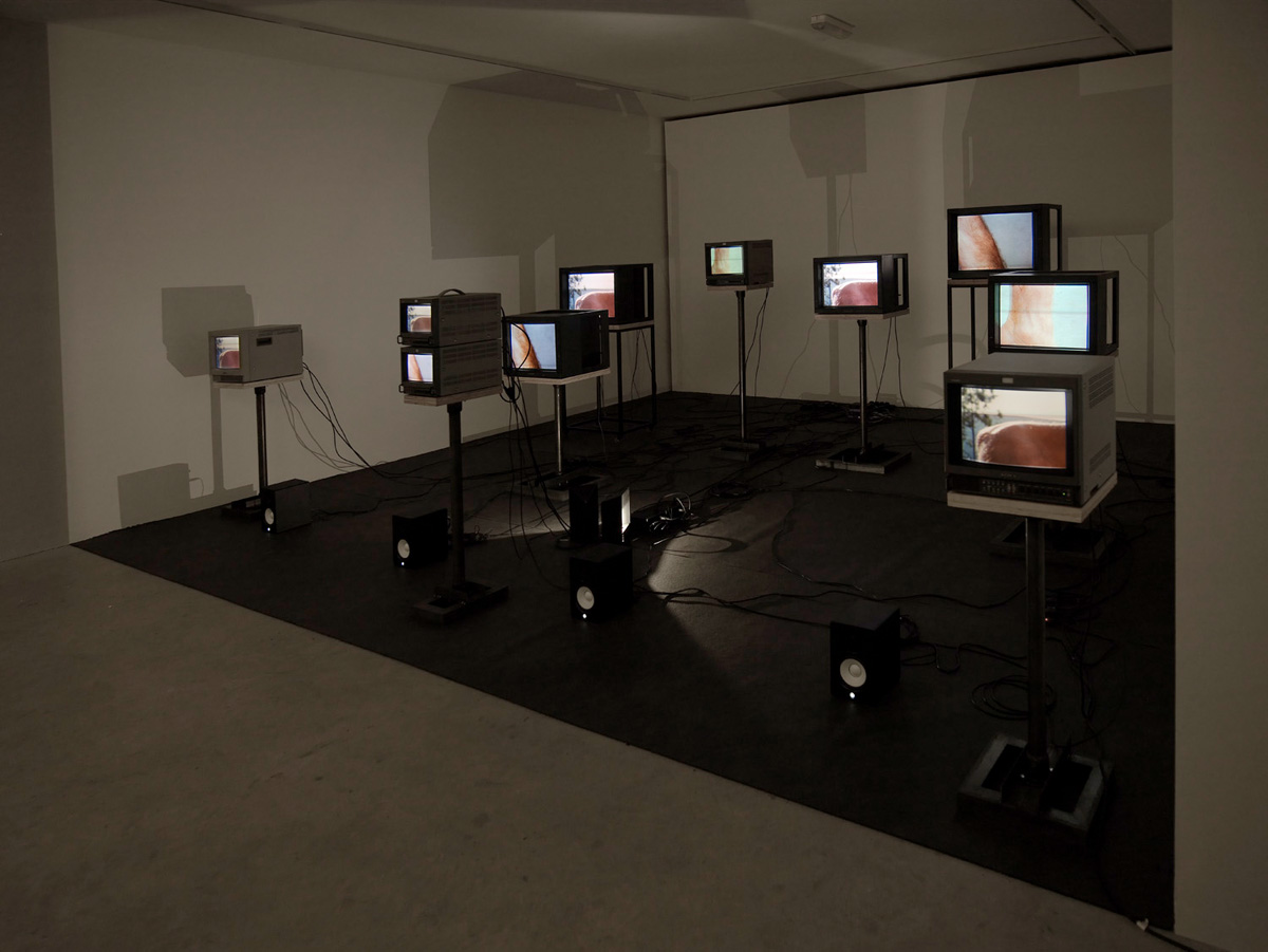 Installation view. ( / + ) , Charles Atlas