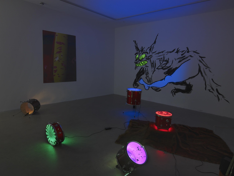 Reynard Reforms, 2015, Matt Copson, Vilma Gold, installation view. Reynard Reforms , Matt Copson