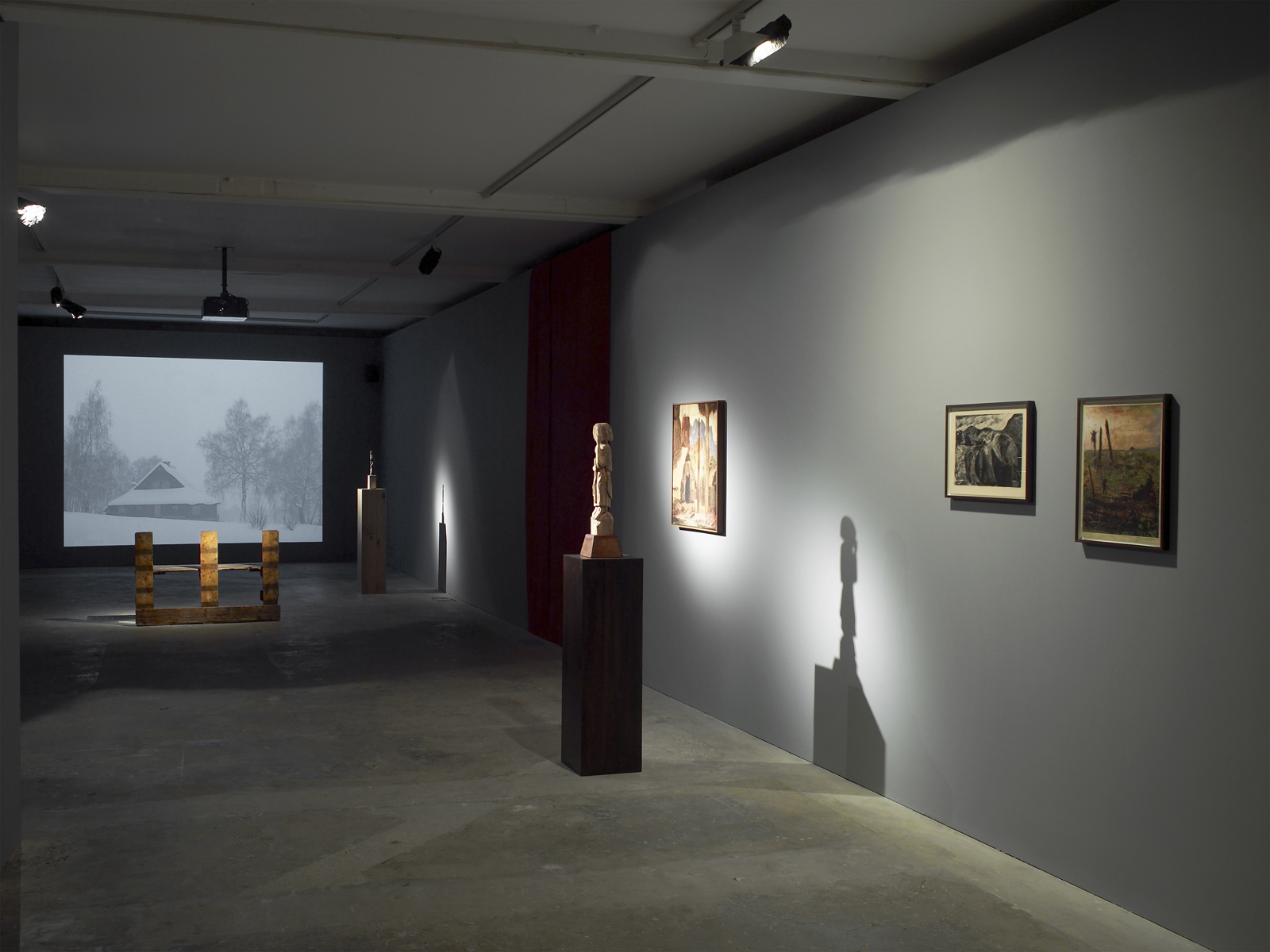 Installation view. A New Beginning , Markus Selg