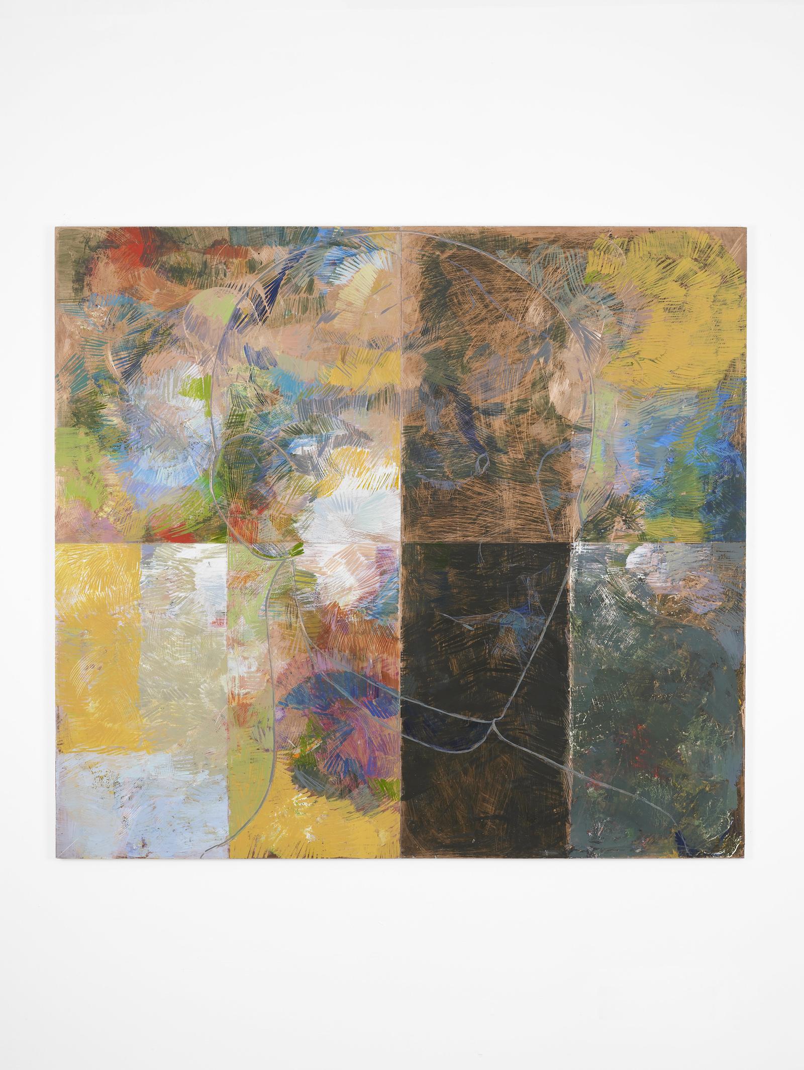 Privilege, 2013 oil on copper 110 x 120 cm / 43 x 47 ins. Roleplay , Nicholas Byrne