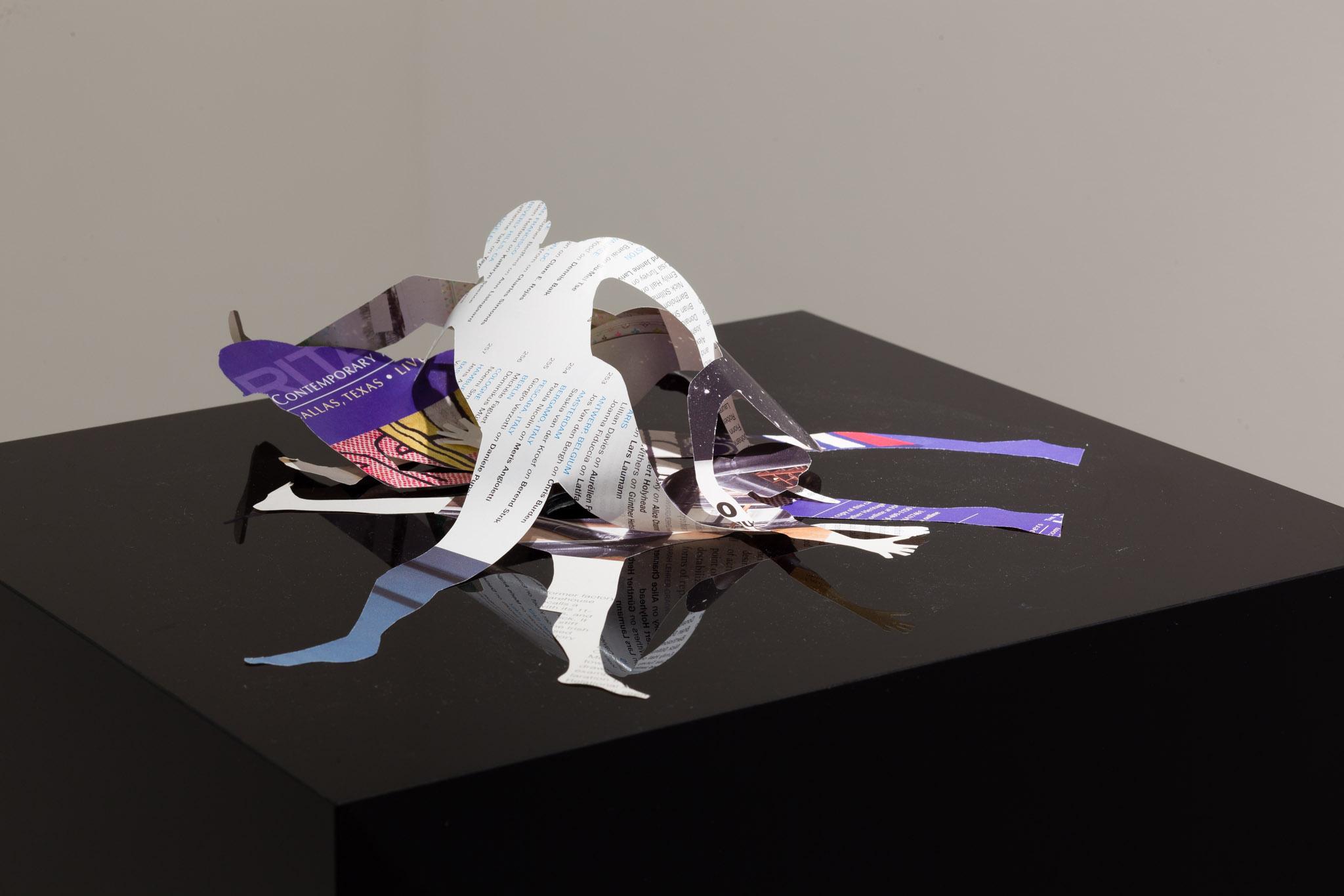 Exhibition view. Adriana Lara, Josef Strau & Perros Negros