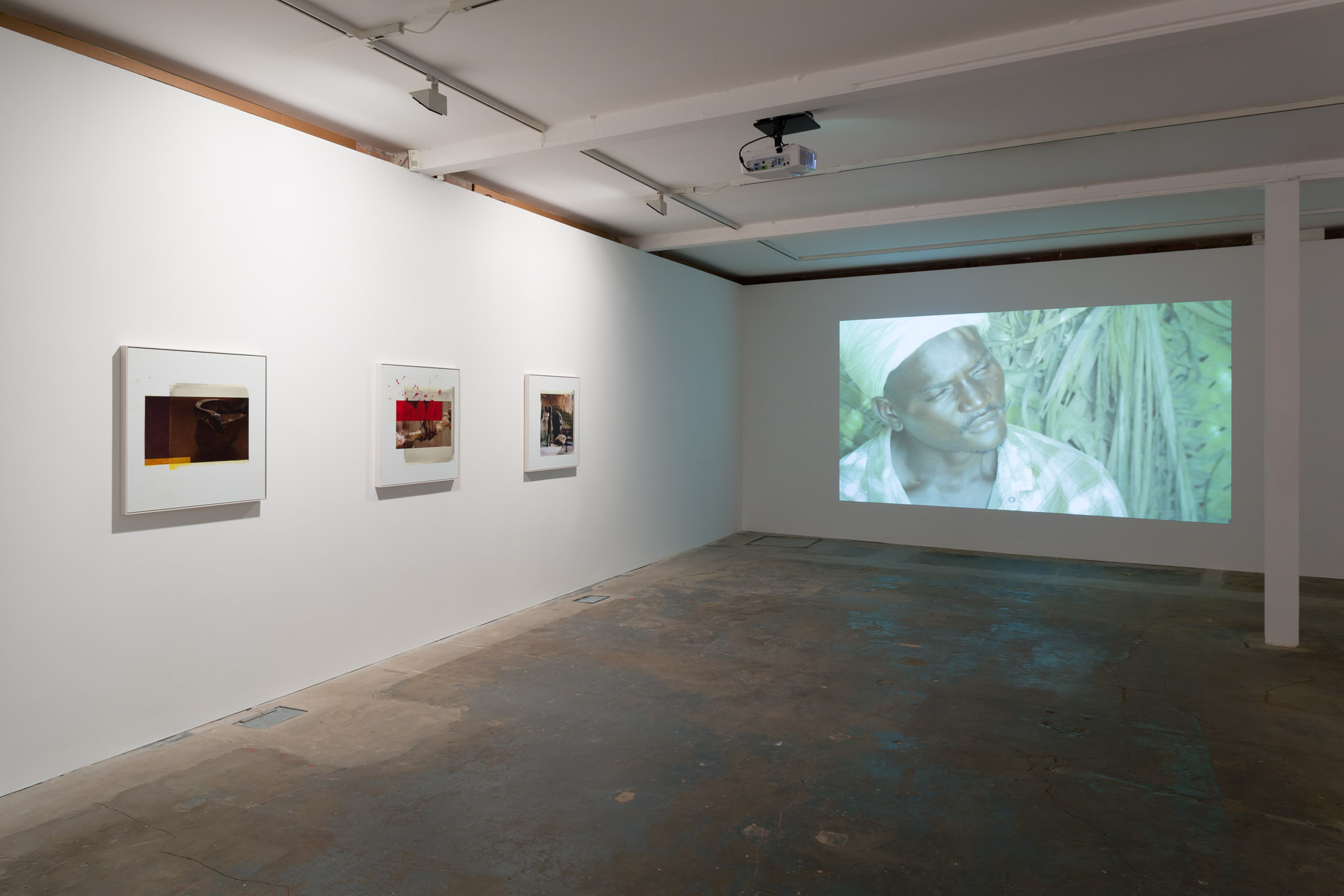Installation view. La Vague d'Esprit , Markus Selg