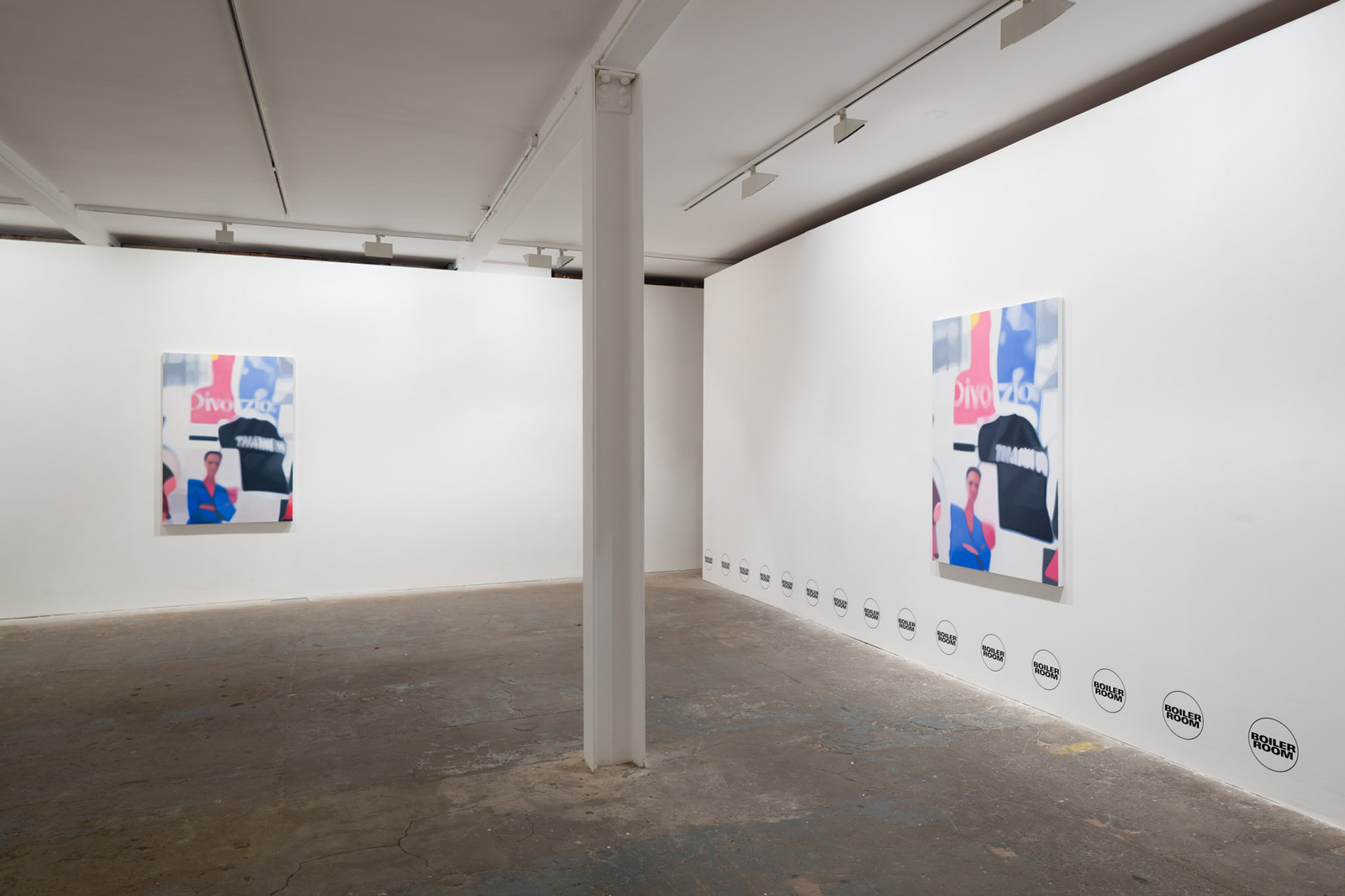 Installation view. P.A. , Alan Michael