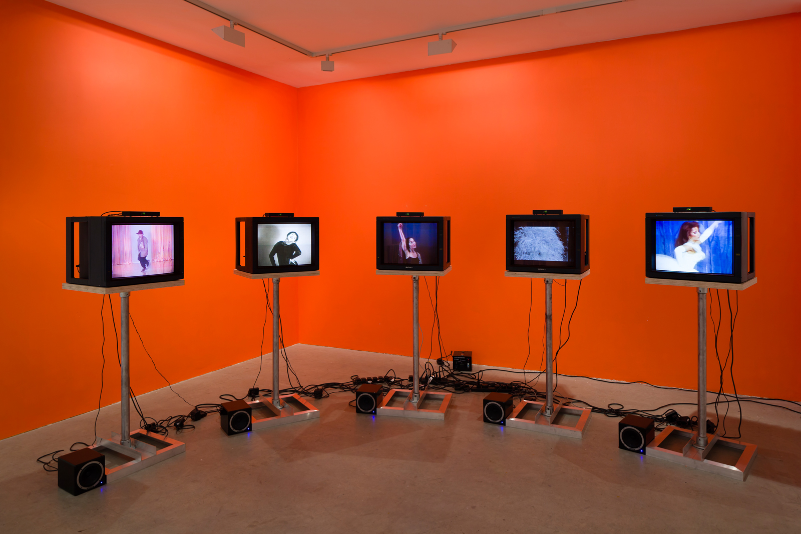 Exhibition view. Martha, Martha, Martha, Martha, Martha , Charles Atlas