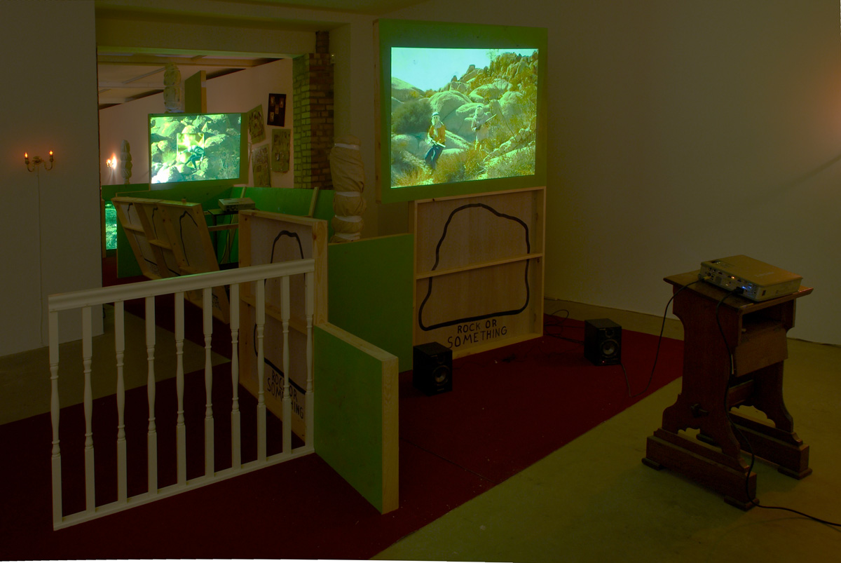 Installation view. Reconstruction Or Something , Stephen G. Rhodes