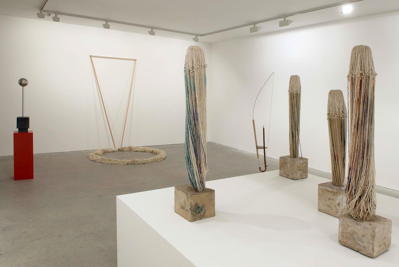 Installation view. Alexandre da Cunha