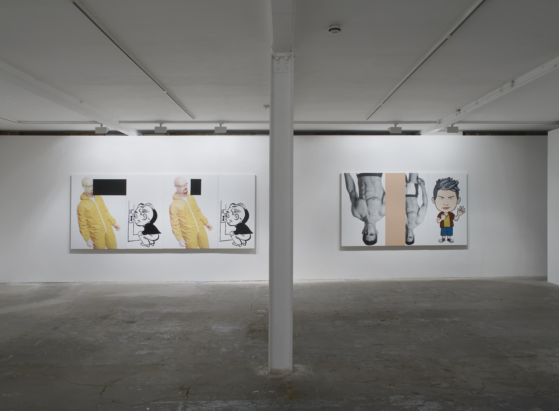 installation image. Julia Wachtel