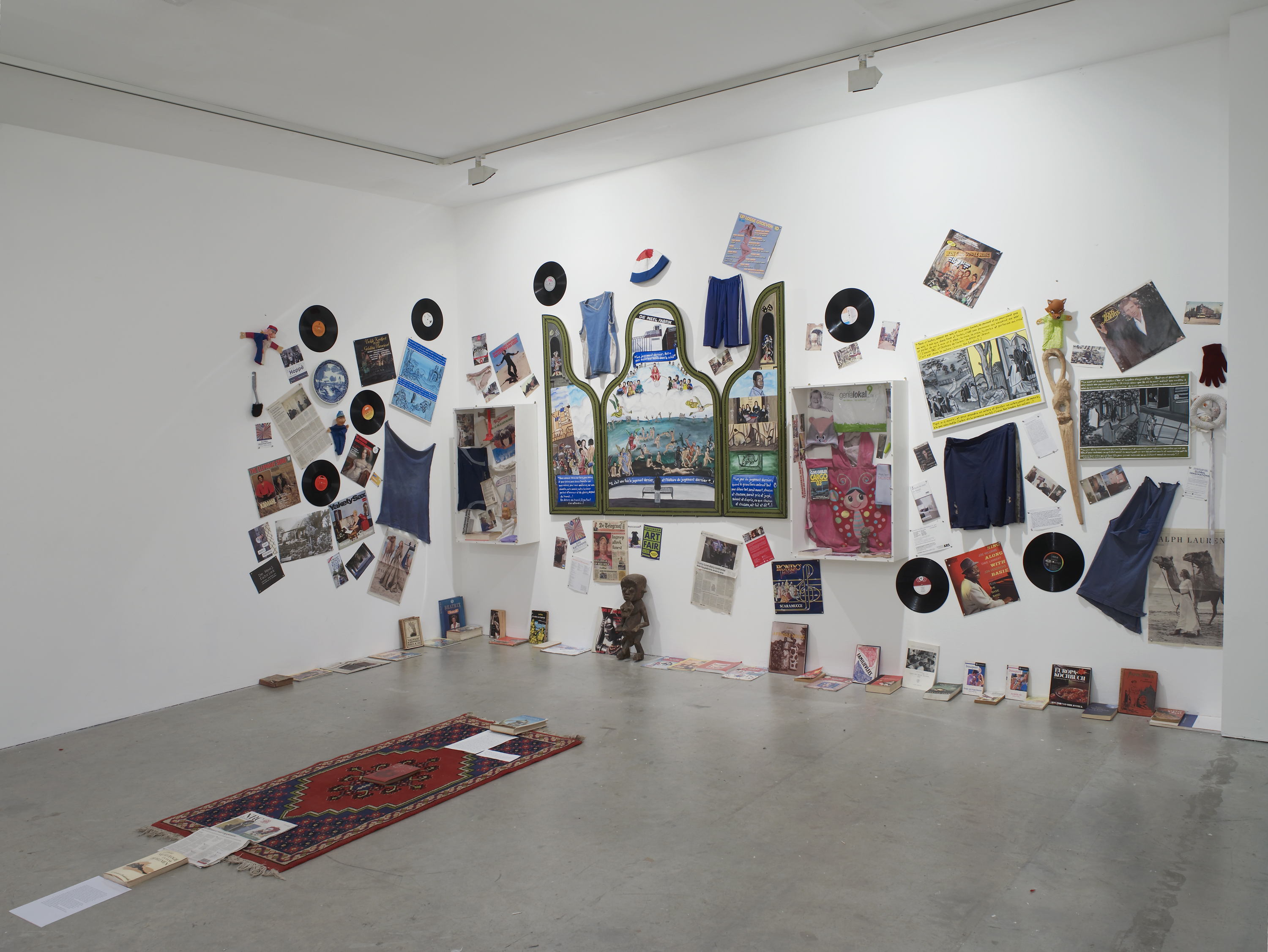 Installation view. GEORGES ADÉAGBO