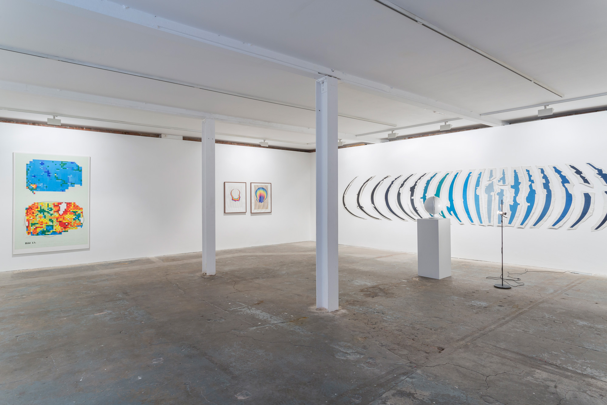 Installation view. KP Brehmer