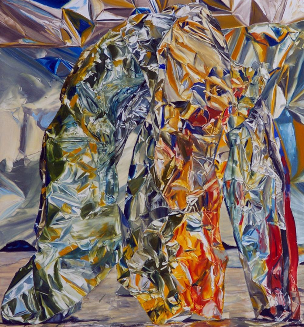 Untitled, 2010 oil on board 30.6 x 28.4 cms 12 x 11 1/8 ins. William Daniels