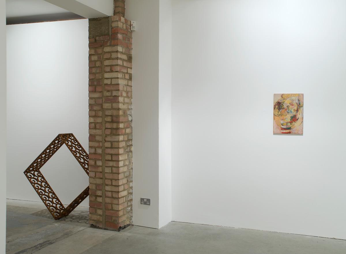 Installation view. A Catholic Episode , Nicholas Byrne