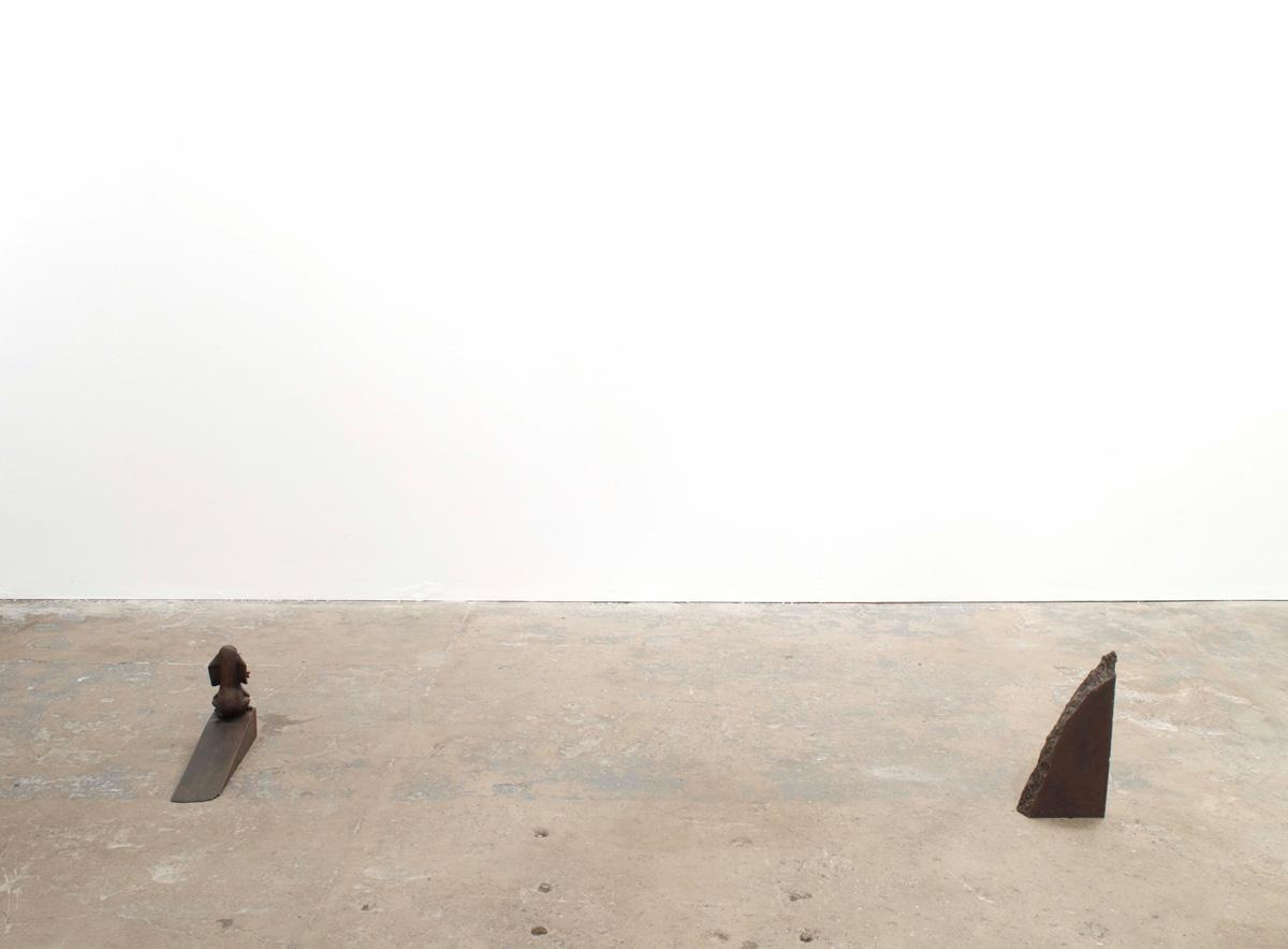 Installation view. The Extension , Nate Boyce, Bjorn Braun, Talia Chetrit, Alexandre da Cunha, Brian Griffiths, Robert Pratt