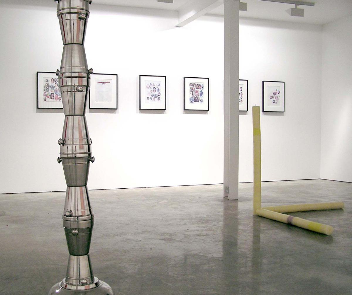Installation view. Colorama , Alexandre da Cunha