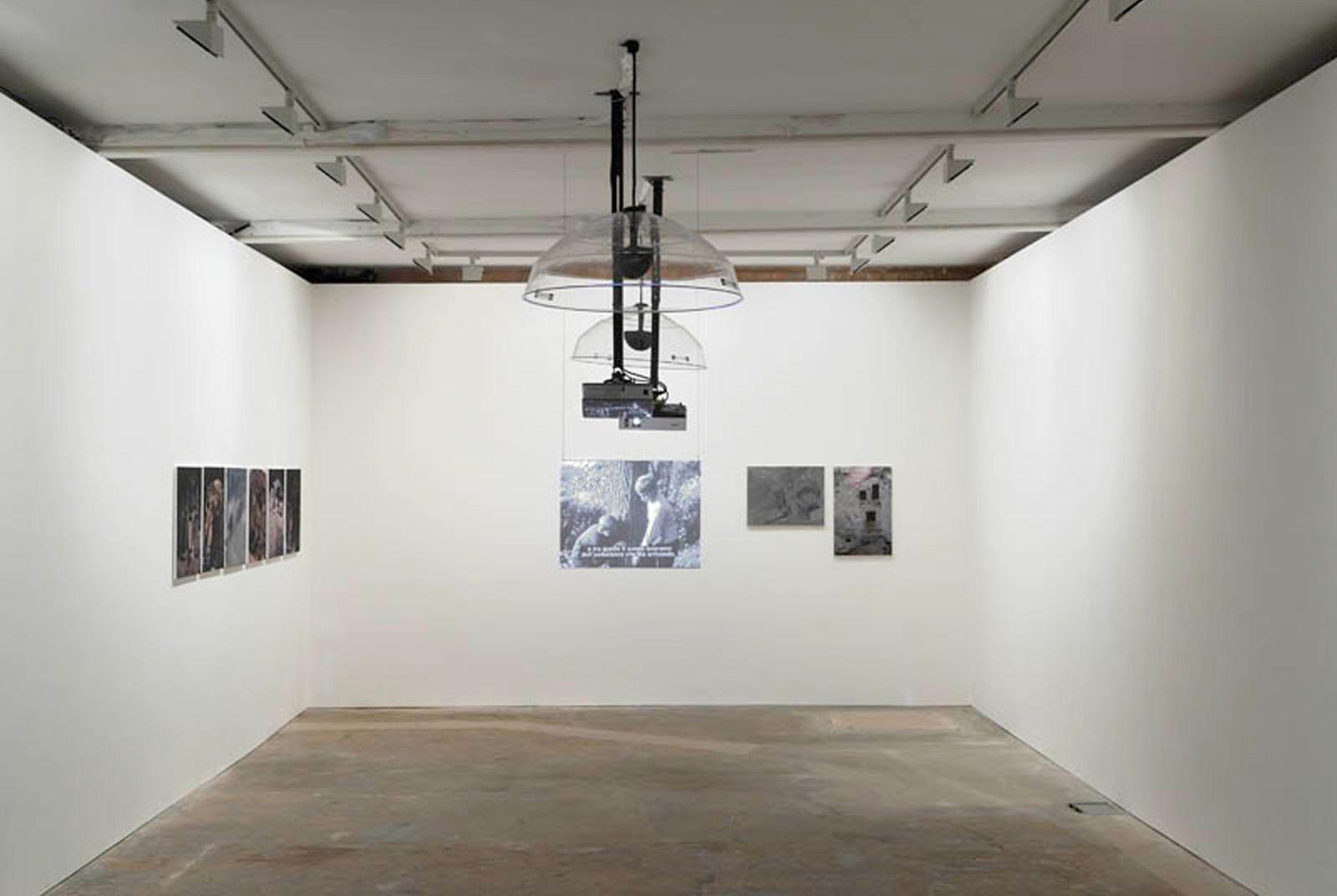 Installation view. I Feel So Divided , Felix Gmelin