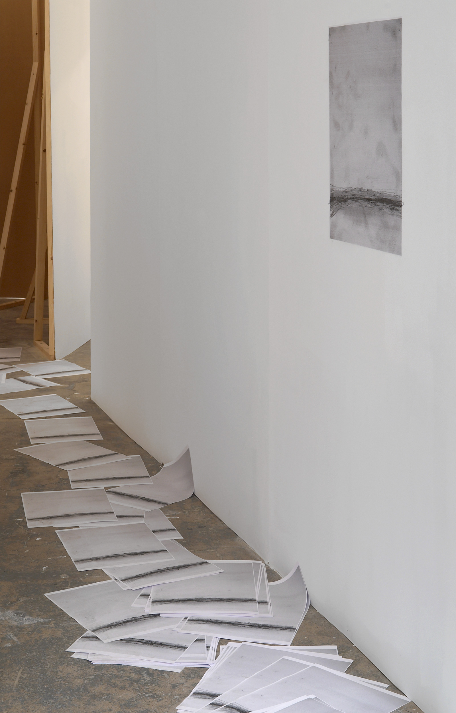 Installation view. Joseph Strau and R.H. Quaytman