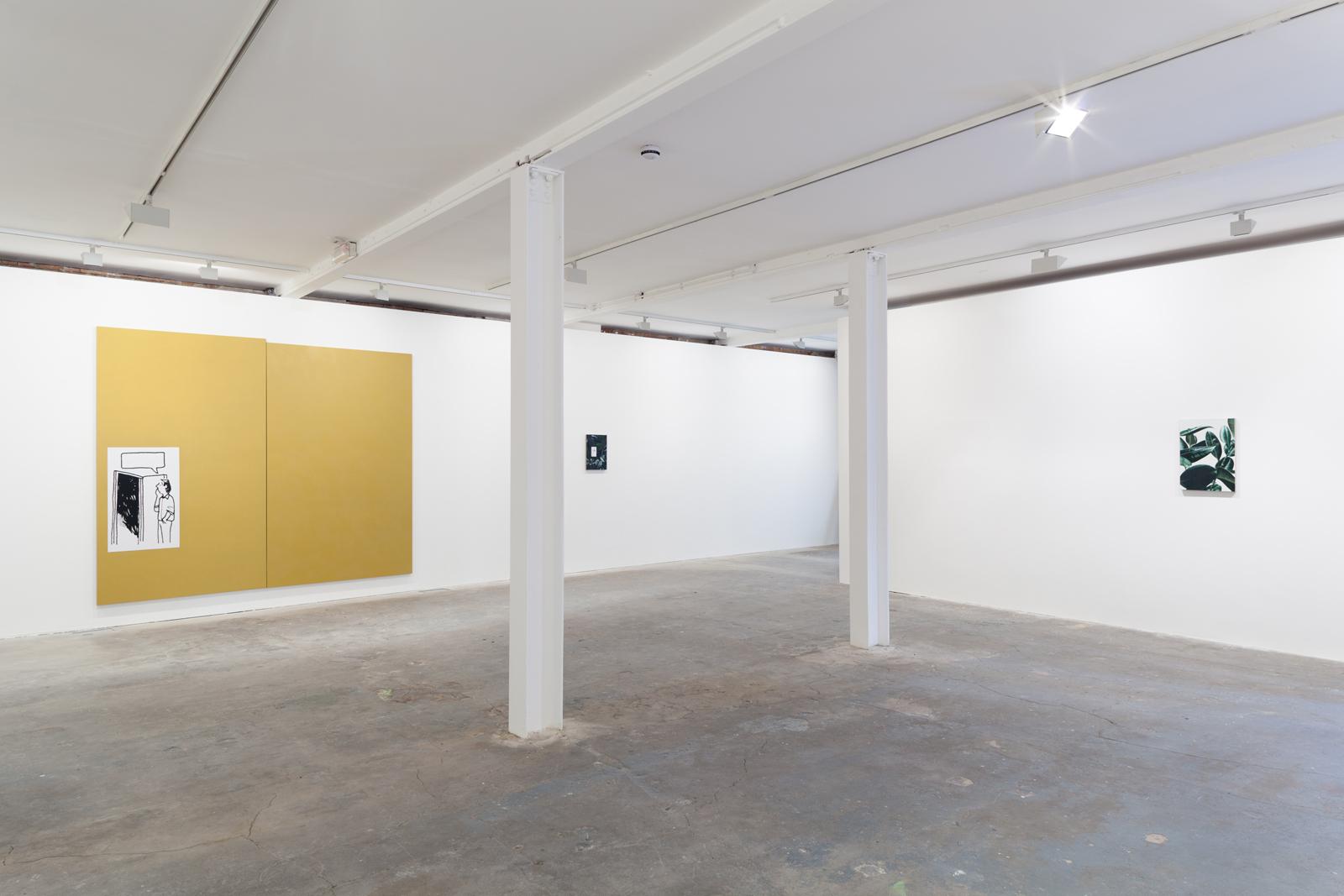 Installation view. Anna , Oliver Osborne