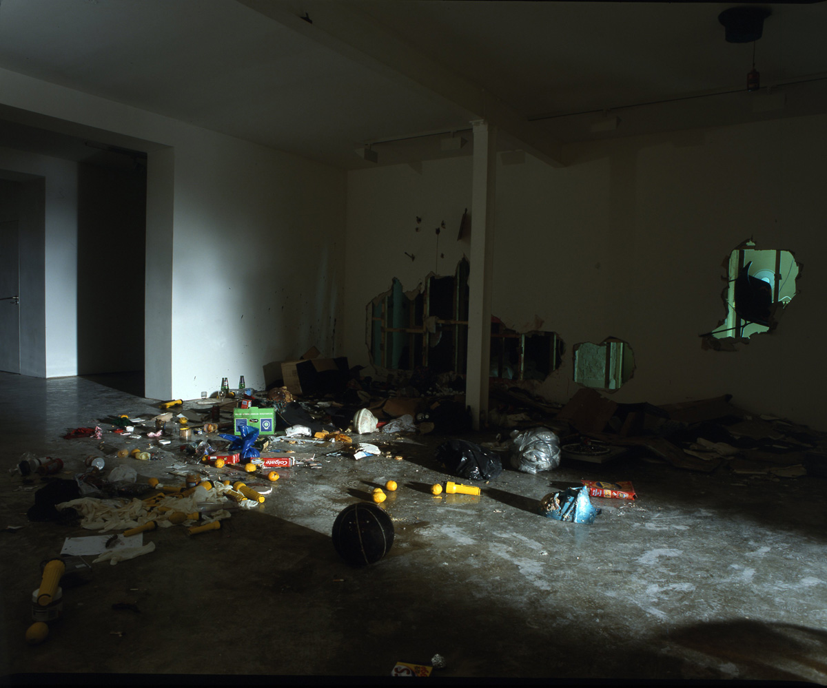 Installation view. Raising Dead Mothers , Brock Enright