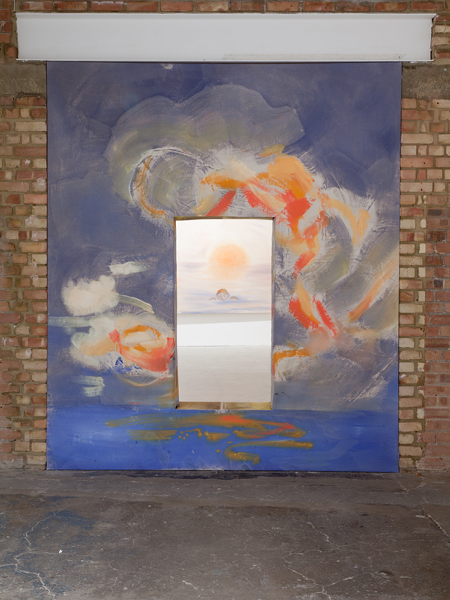 Installation view. Crying for the Sunset , Sophie Von Hellermann