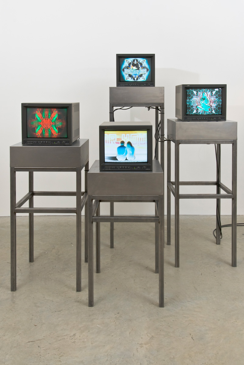 Installation view. The Eye Don't See Itself , Mark Titchner