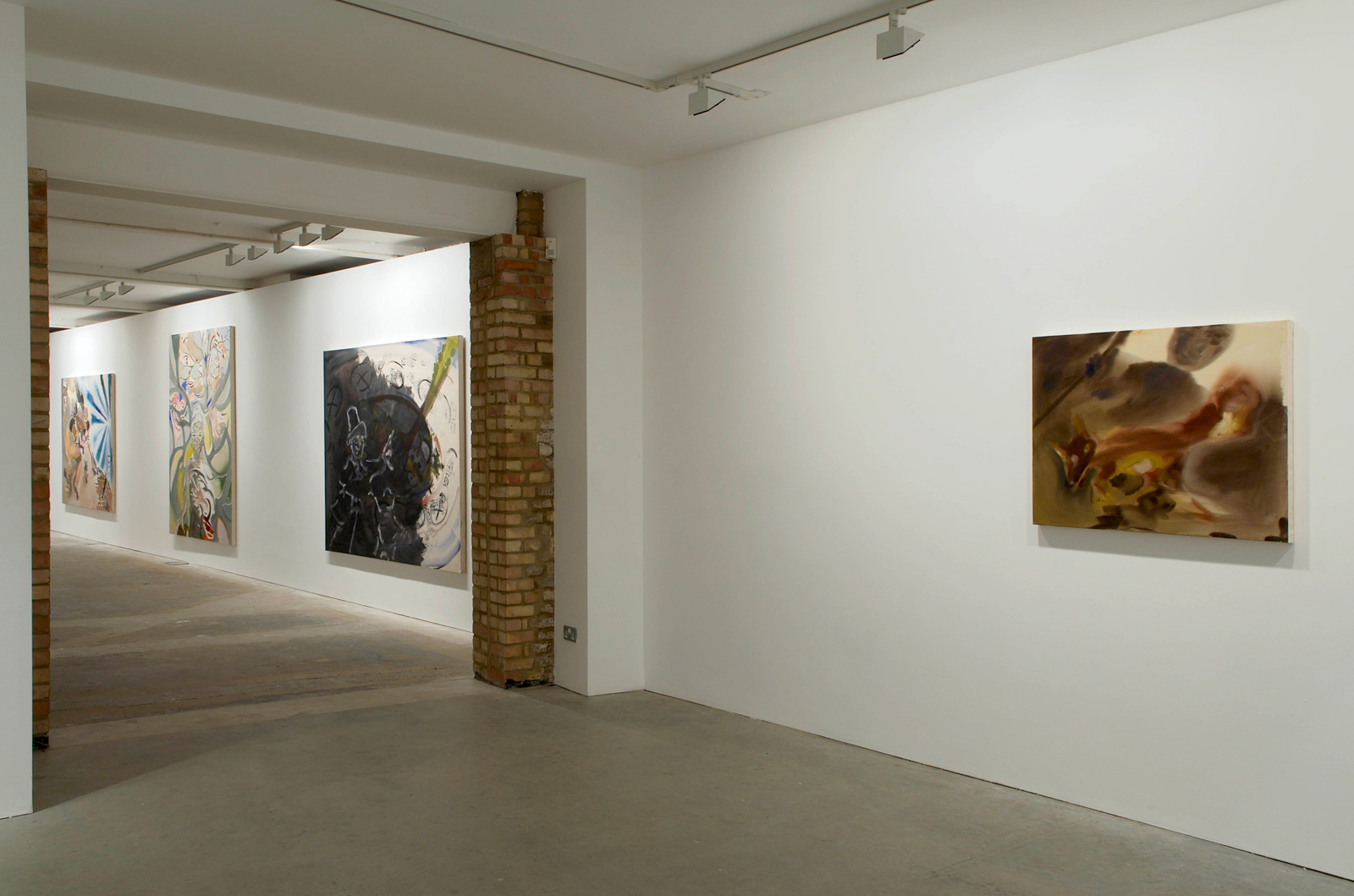 Installation view. Sophie Von Hellermann
