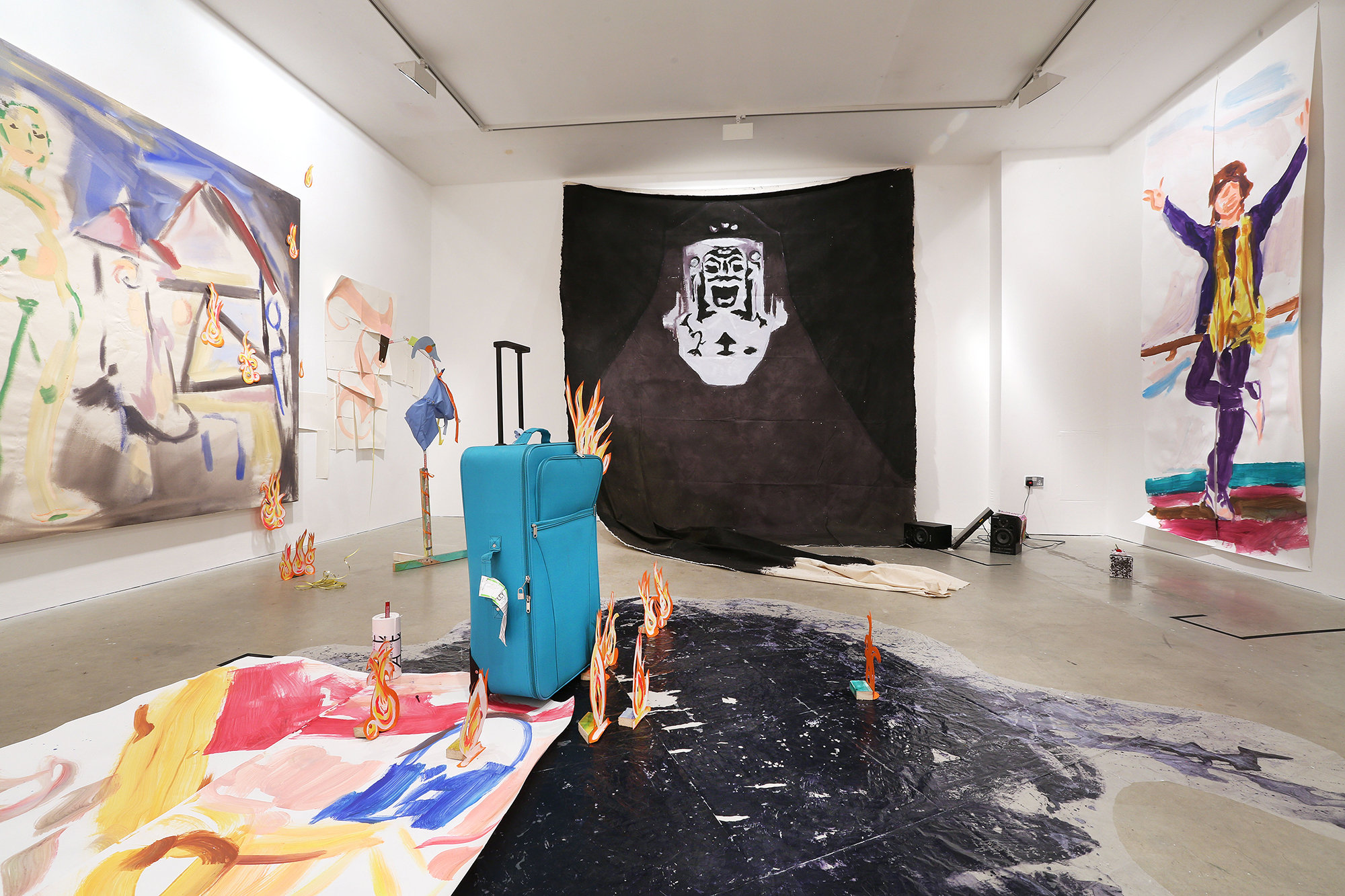 Another Bandwagon, 2015, hobbypopMUSEUM, Vilma Gold, London, installation view. Another Bandwagon , hobbypopMUSEUM