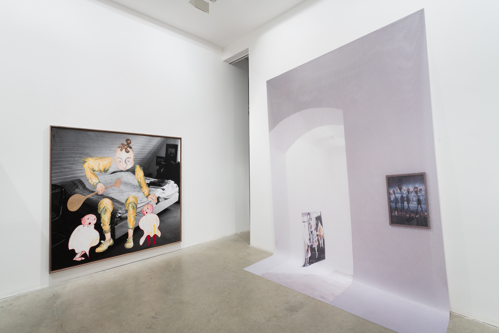 Two Parks, 2014, Vilma Gold, London, Installation View. Two Parks , Philipp Timischl and Anne Speier