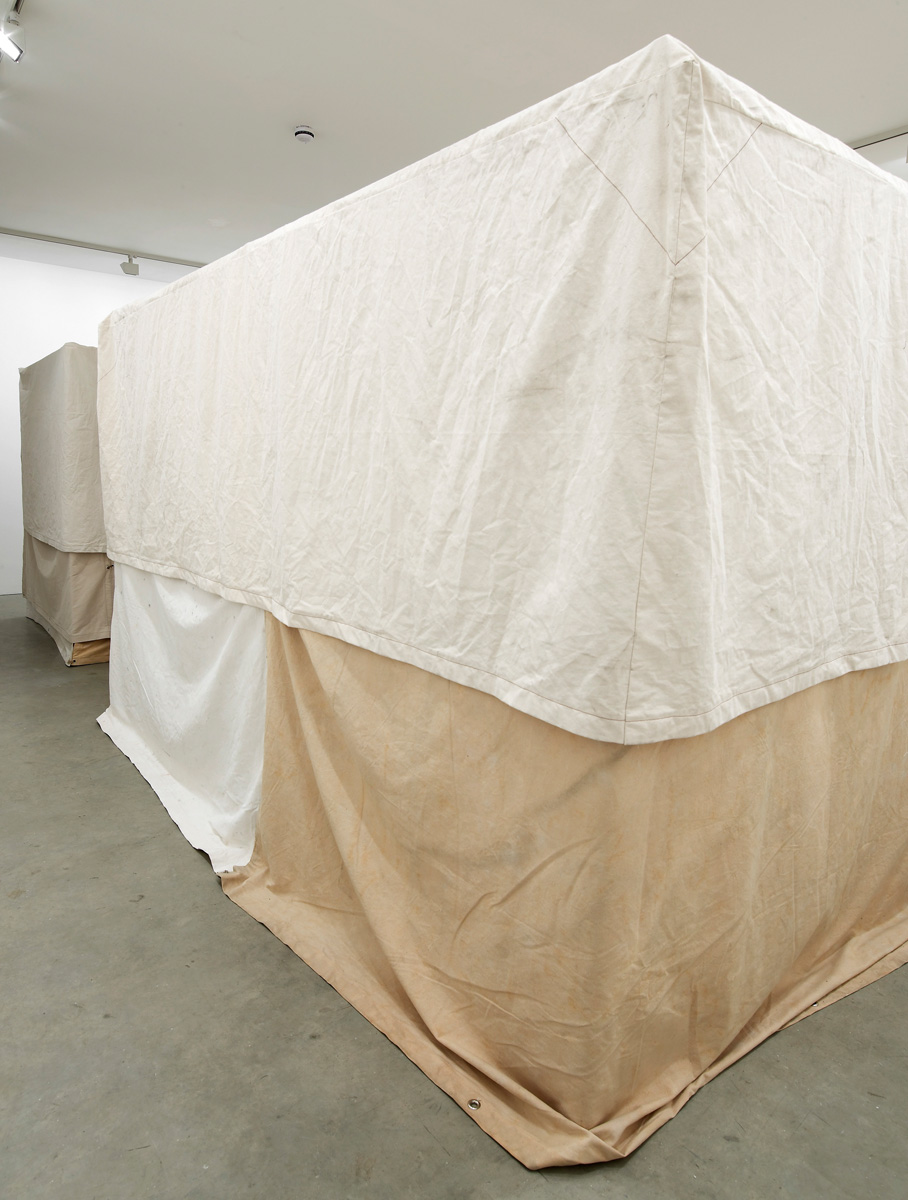 Installation view. The Invisible Show , Brian Griffiths